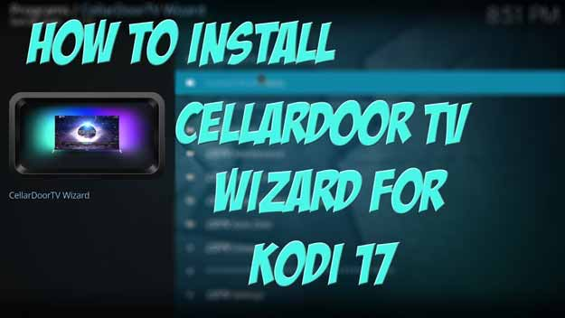 cellardoor tv kodi sihirbazı