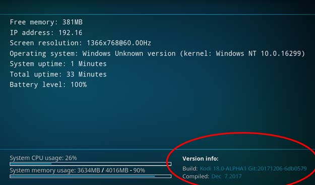 descărcare kodi v18 Windows pe 64 biți