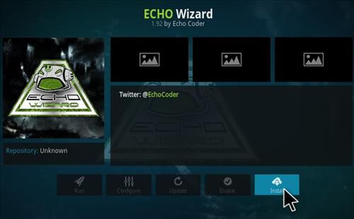 setting ng eco wizard kodi