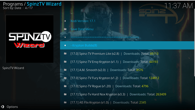 spinz tv wizard magtayo