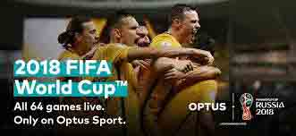 Oferta Optus FIFA World Cup 2018