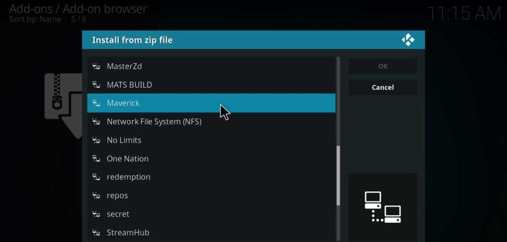 File zip addon Kodi HBO