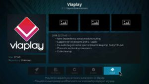Viaplay kodi addon for wimbledon